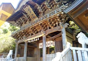 健軍神社の門