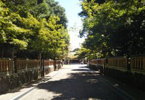 健軍神社小道