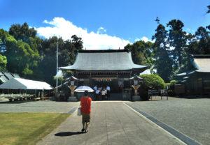 健軍神社本殿