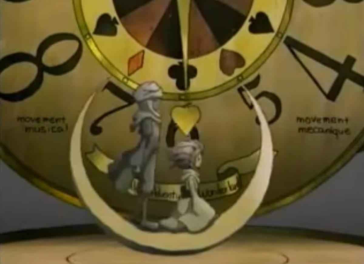 月のワルツ時計